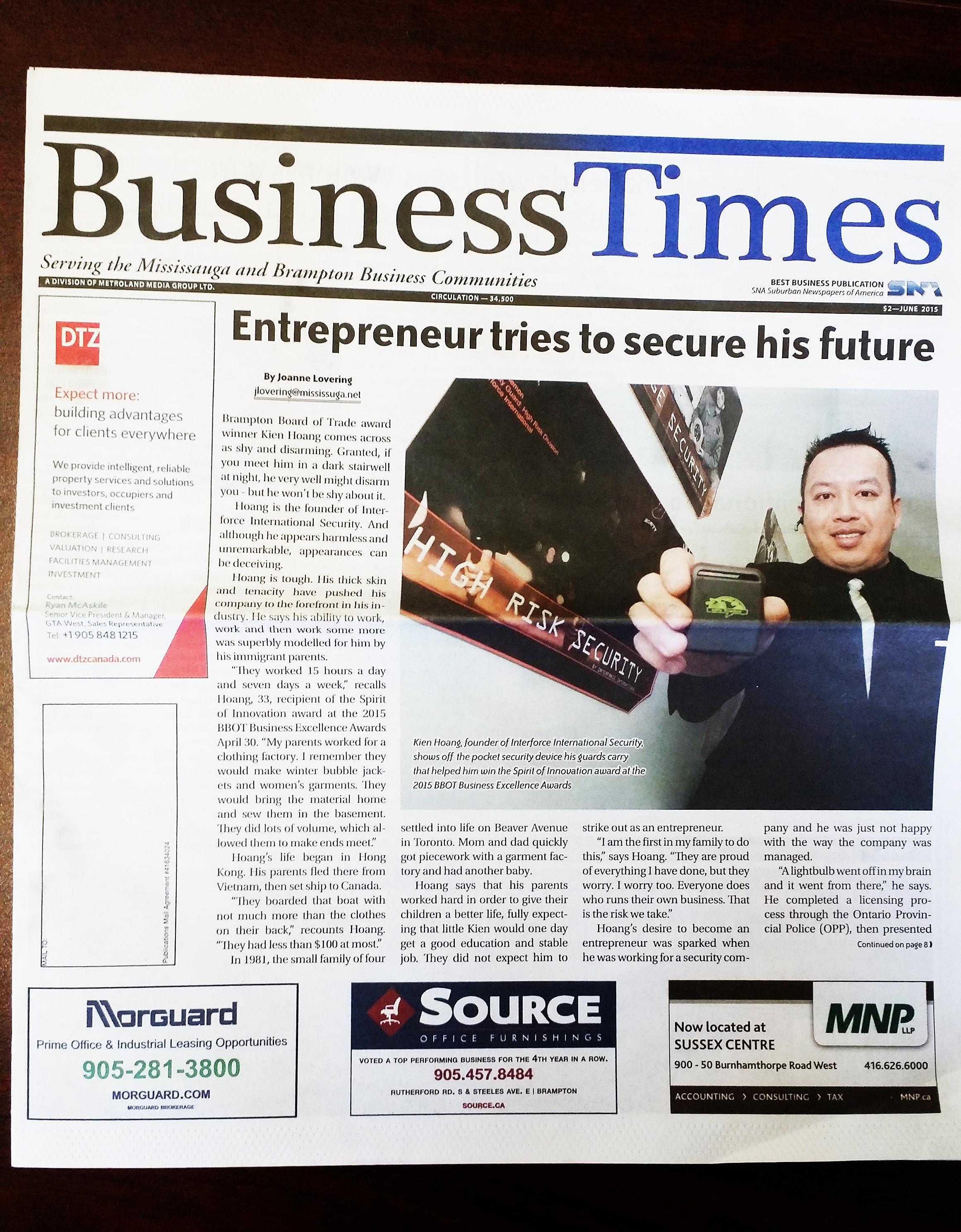 International Business Times Newspaper