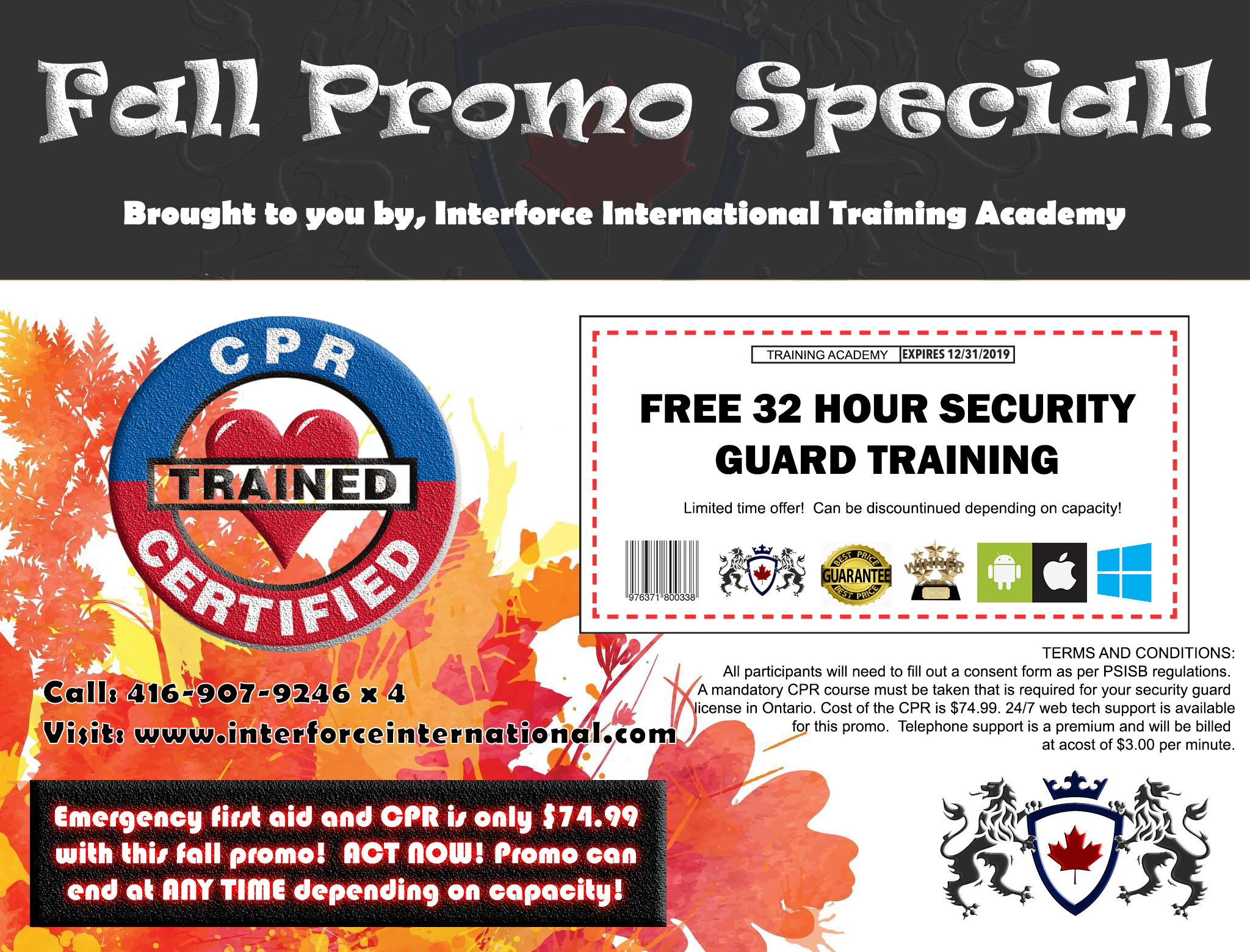 Security Guard Amp Private Investigations Training Overview